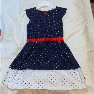Kids polka-dotted dress